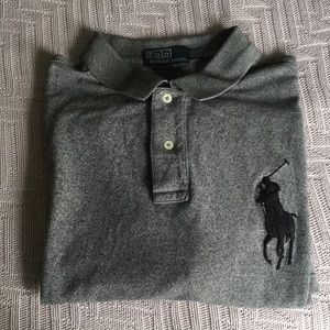 Grey polo shirt from Polo by Ralph Lauren size XXL